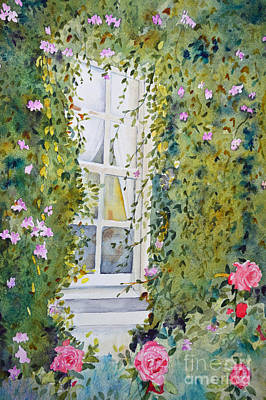 Huntington Painting - The Window by Terri Robertson