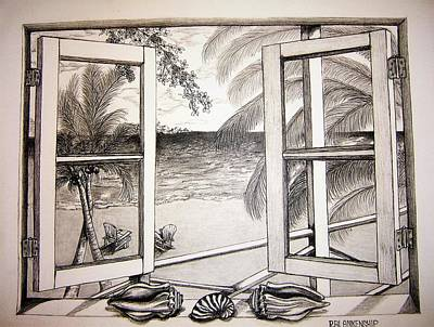 Window View Drawing - The Window View by Ralph Blankenship & Window View Drawings (Page #4 of 4) | Fine Art America