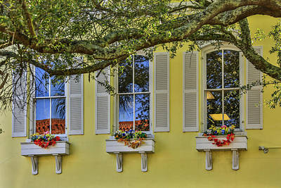 Photograph - The Windows Of Amelia Island by Paula Porterfield-Izzo