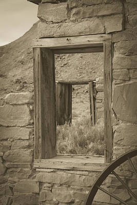 Photograph - The Windows Of Time by Teresa Wilson