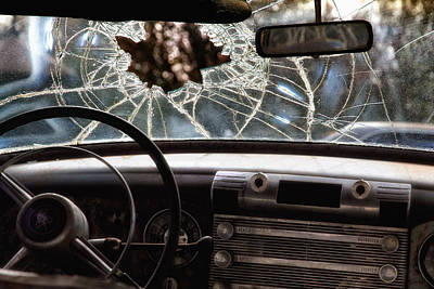 Photograph - The Windshield  by Daniel George
