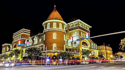 The Windsor Hotel - Americus, Ga Art Print