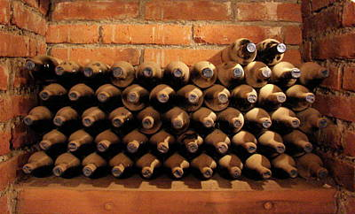 Photograph - The Wine Cellar II by Brett Winn