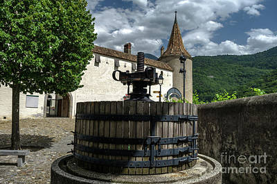 Photograph - The Wine Press by Michelle Meenawong