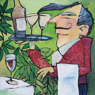 Painting - The Wine Steward by Tim Nyberg