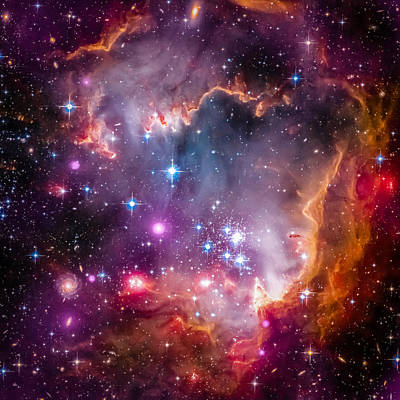 The Wing Of The Small Magellanic Cloud Original by Marco Oliveira