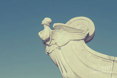 Photograph - The Winged Figure Of Democracy In Front Of Union Station In Wash by Patricia Hofmeester