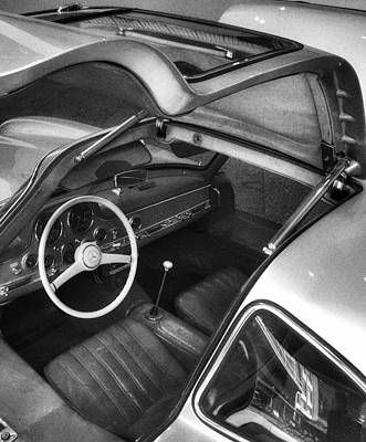 Photograph - The Wings Of A Mercedes Gullwing by Dirk Jung