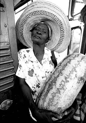 Haitian Photograph - The Winner by Michael L Kimble