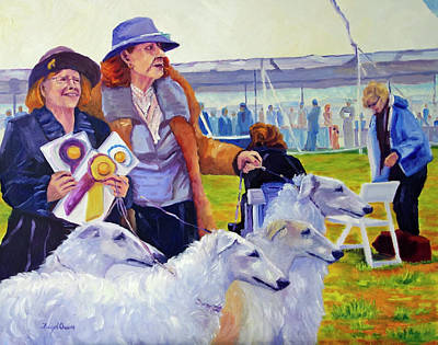 Painting - The Winning Way by Terry Chacon