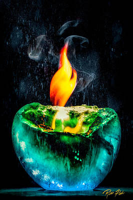 Photograph - The Winter Of Fire And Ice by Rikk Flohr