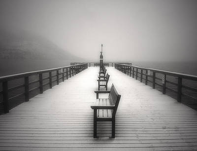 Penticton Photograph - The Winter Pier by Tara Turner