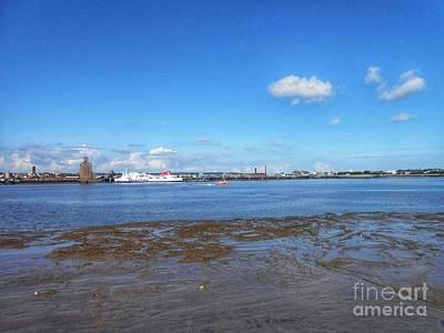 Photograph - The Wirral Peninsula From Pier Head by Joan-Violet Stretch