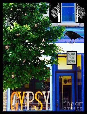 Gypsy Mixed Media - The Wisconsin Gypsy by Dianne Benanti