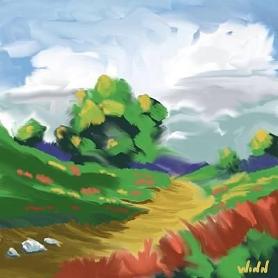 Painting - The Wise Old Oak by Brett Winn