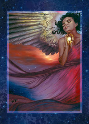 Art Print featuring the painting The Wish Bearer by Ragen Mendenhall