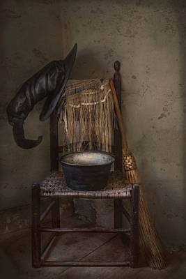 Photograph - The Witch Is In by Robin-Lee Vieira