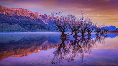 Aotearoa Photograph - The Witches Of Glenorchy by Kumar Annamalai