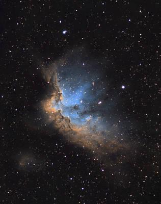 Photograph - The Wizard Nebula by David Watkins