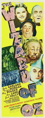 Mixed Media - The Wizard Of Oz 1939 by Mountain Dreams