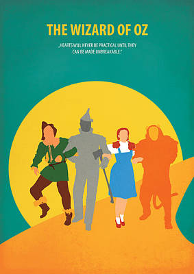 Gelb Digital Art - The Wizard Of Oz by Fraulein Fisher