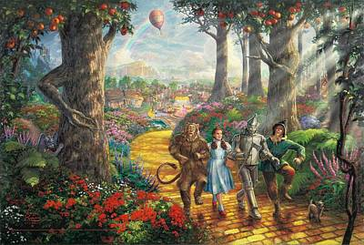 Wizard Digital Art - The Wizard Of Oz by Maye Loeser