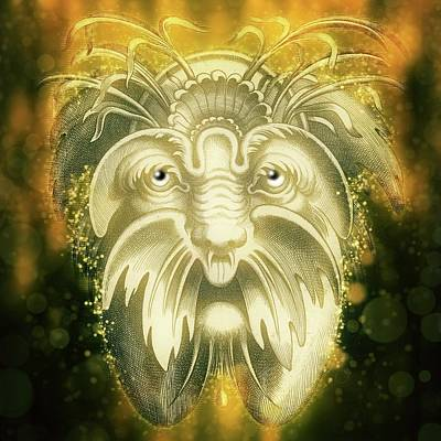 Goblin Mixed Media - The Wizard by Terry Fleckney