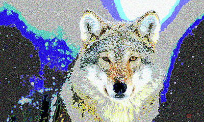 The Wolf Art Print by Charles Shoup