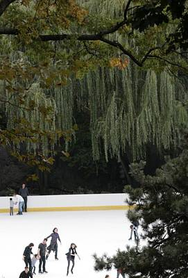 Photograph - The Wollman Rink by Christopher Kirby