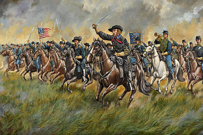 Have A Cupcake - The Wolverines - George A. Custer and the Michigan Cavalry Brigade at Gettysburg by Mark Maritato