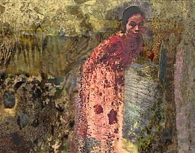 The Woman At His Tomb Art Print