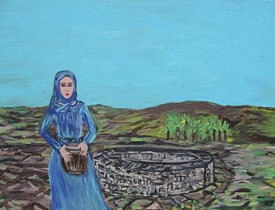 The Woman At The Well Original by Clare Ventura