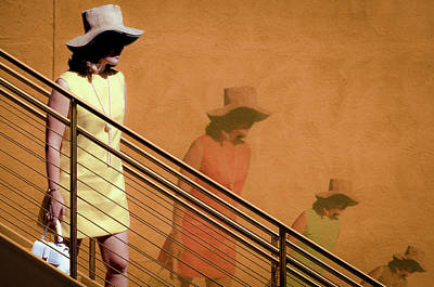 Photograph - The Woman On The Wall by Emily Bristor