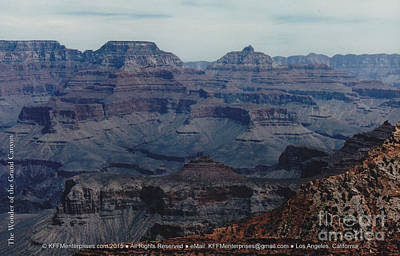 Photograph - The Wonder Of The Grand Canyon by Kevin Montague