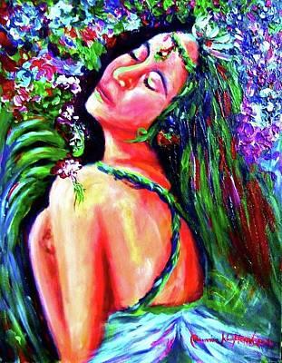 Painting - The Wonderful Love by Wanvisa Klawklean