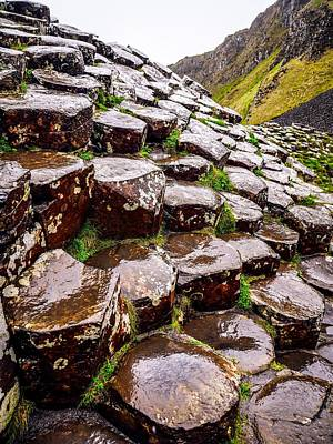 Photograph - The Wonders Of Giants Causeway by Lexa Harpell