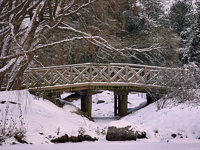 Photograph - The Wooden Bridge by Jouko Lehto