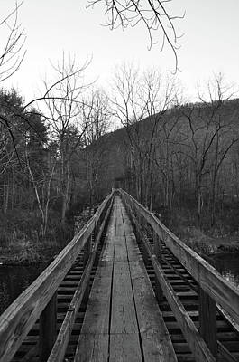 Photograph - The Wooden Bridge by Trish Tritz