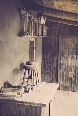 Photograph - The Workbench by Teresa Blanton