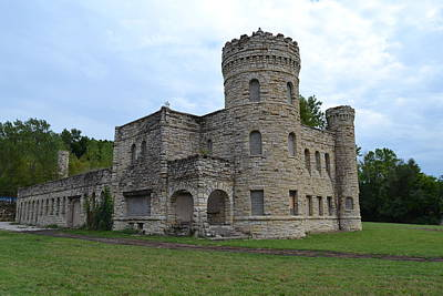Kansas City Photograph - the workhouse Castle of Kansas City by Shelley Wood