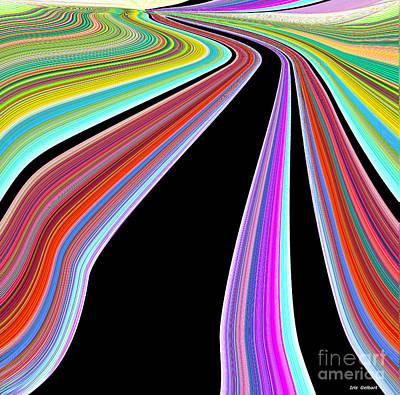 Digital Art - The World Around You Is Beautiful by Iris Gelbart