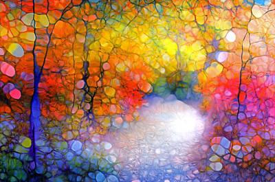 The World Is Like A Window Art Print by Tara Turner