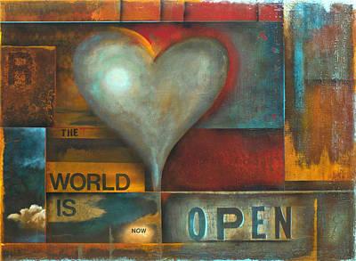 The World Is Now Open Art Print by Stephen Schubert