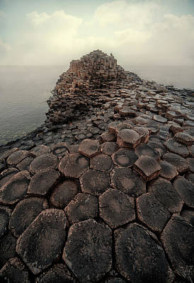 Photograph - The World Of Hexagon Stones by Jaroslaw Blaminsky