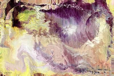The World Of Magic Art Print by Linda Sannuti