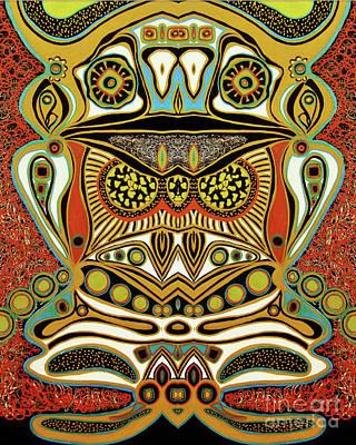 Mixed Media - The World Of Patterns by Jolanta Anna Karolska