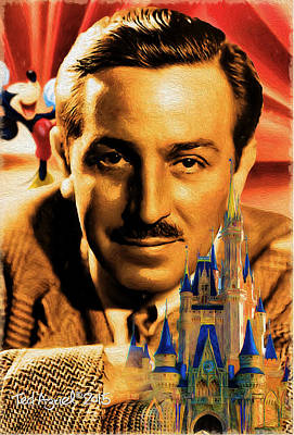 Painting - The World Of Walt Disney by Ted Azriel
