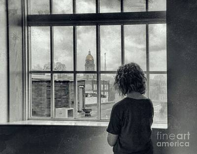Photograph - The World Outside My Window by Laurinda Bowling