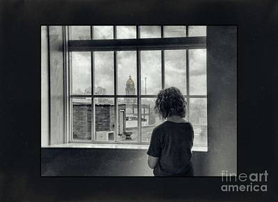 Photograph - The World Outside My Window Number II  by Laurinda Bowling