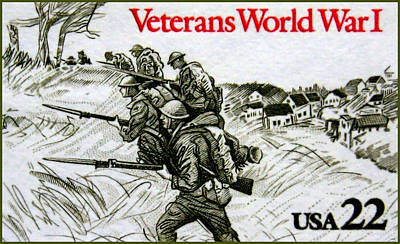 Approval Painting - The World War 1 Veterans Stamp by Lanjee Chee